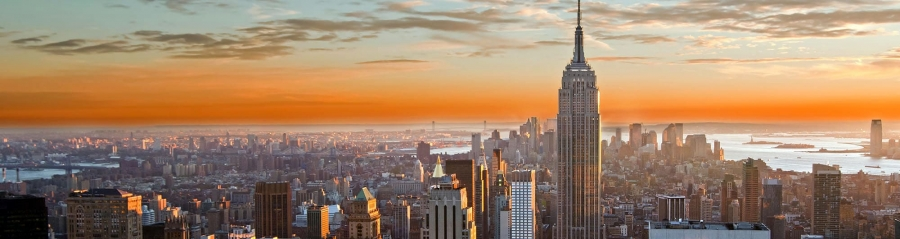 An image of the New York City skyline
